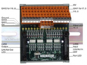 I16S - I16x3 modul digitalnih ulaza za induktivne senzore