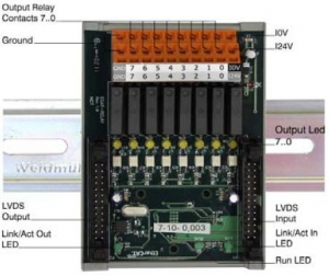 O8R - modul 8 relejnih izlaza s 1 radnim kontaktom